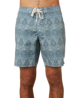 TEAL MENS CLOTHING RHYTHM BOARDSHORTS - JUL19M-TR08-TEA