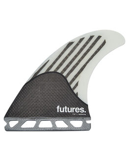 WHITE CARBON BOARDSPORTS SURF FUTURE FINS FINS - 1018-466-00WHICA