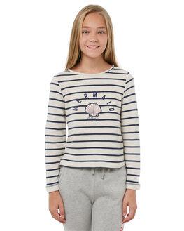 DRESS BLUE NAUTIC KIDS GIRLS ROXY JUMPERS - ERGFT03257BTK8