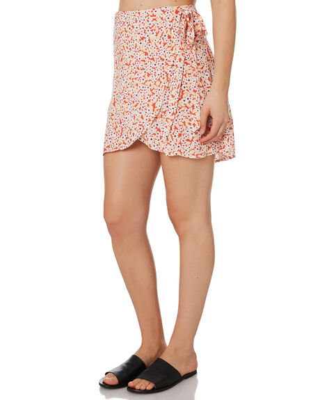 RED WOMENS CLOTHING RIP CURL SKIRTS - GSKDX10040