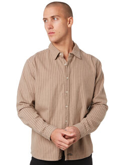 TAN MENS CLOTHING MISFIT SHIRTS - MT096402TAN
