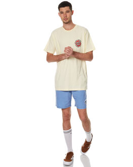 BUTTERMILK MENS CLOTHING SANTA CRUZ TEES - SC-MTC7555BMLK