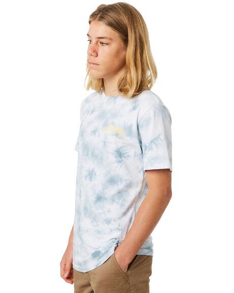MID BLUE KIDS BOYS RIP CURL TOPS - KTEUY28962
