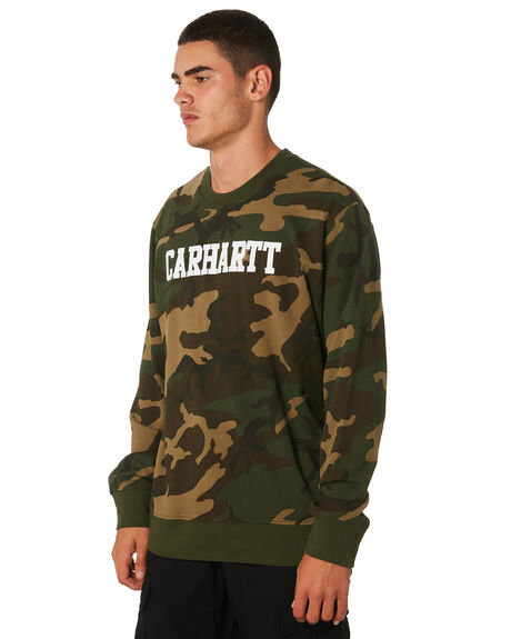 CAMO MENS CLOTHING CARHARTT JUMPERS - I024668CAMO