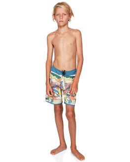 STELLAR KIDS BOYS QUIKSILVER BOARDSHORTS - EQBBS03352-BNT6