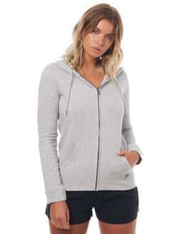 HERITAGE HEATHER WOMENS CLOTHING ROXY JUMPERS - ERJFT03599SGRH