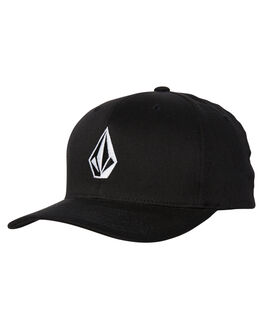 BLACK MENS ACCESSORIES VOLCOM HEADWEAR - D5511105BLK