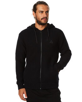 BLACK MENS CLOTHING BILLABONG KNITS + CARDIGANS - 9575859BLK
