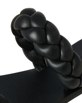 BLACK WOMENS FOOTWEAR SOL SANA FASHION SANDALS - SS182S406BLK