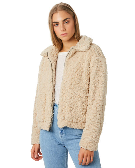 NATURAL WOMENS CLOTHING SWELL JACKETS - S8194383NATRL