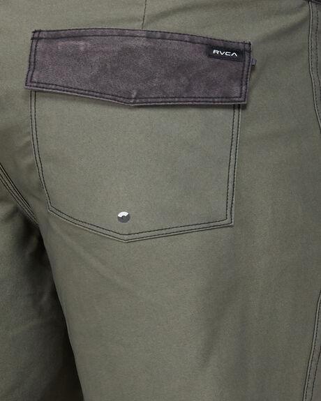 OLIVE MENS CLOTHING RVCA BOARDSHORTS - RV-R192407-OL1