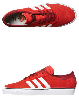 SCARLET WHITE MENS FOOTWEAR ADIDAS ORIGINALS SKATE SHOES - BY3951SCAR