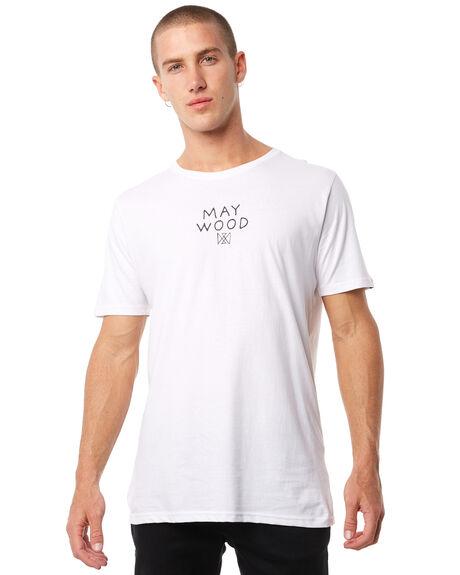 WHITE MENS CLOTHING MAYWOOD TEES - MTZ707WHITE