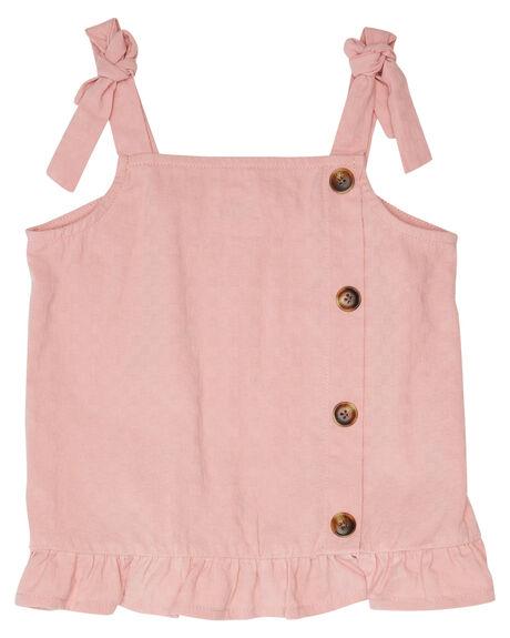 PINK KIDS GIRLS EVES SISTER TOPS - 8045011PNK