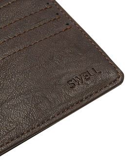 CHOCOLATE MENS ACCESSORIES SWELL WALLETS - SW-AW-001CHOCO