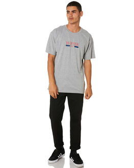 GREY MARLE MENS CLOTHING HUFFER TEES - MTE91S23.734GRY