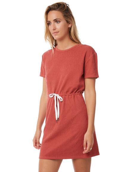RUST WOMENS CLOTHING SWELL DRESSES - S8182443RUST
