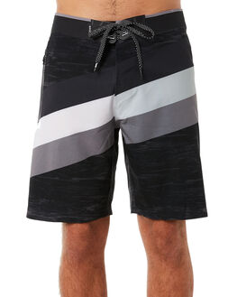 BLACK GREY MENS CLOTHING RIP CURL BOARDSHORTS - CBOPU70097