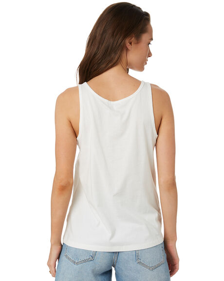 WHITE WOMENS CLOTHING SWELL SINGLETS - S8202008WHI