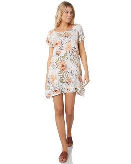 WHITE WOMENS CLOTHING RIP CURL DRESSES - GDRIF11000