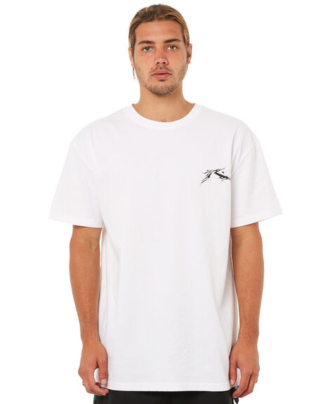 WHITE MENS CLOTHING RUSTY TEES - TTM1808WHT