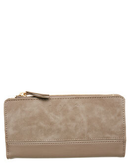 STONE GREY WOMENS ACCESSORIES RUSTY PURSES + WALLETS - WAL0776SOG