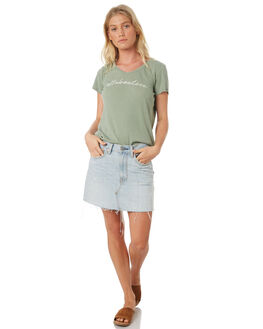 MINT WOMENS CLOTHING ALL ABOUT EVE TEES - 6424080MINT