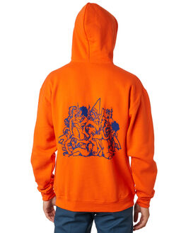 SAFETY ORANGE OUTLET MENS SURF IS DEAD JUMPERS - SD18HD6-01SFORG