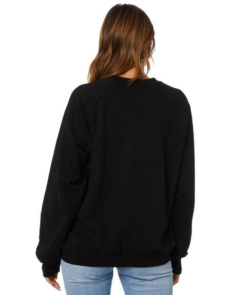 BLACK WOMENS CLOTHING VOLCOM JUMPERS - B4612176BLK