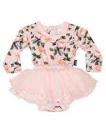 794c7a8a80fb Rock Your Baby Baby Shabby Chic Ls Circus Dress - Pale Pink   SurfStitch