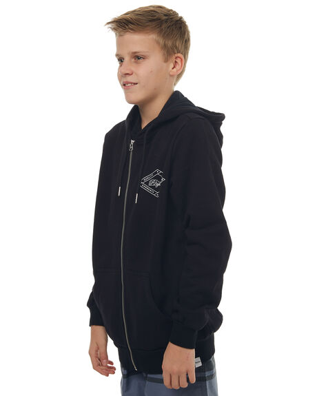 BLACK KIDS BOYS RHYTHM JUMPERS - APR17-B-FL05-BLK