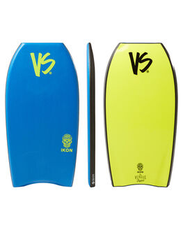 BLUE YELLOW BOARDSPORTS SURF VS BODYBOARDS BOARDS - V18IKON43RBBLUYW