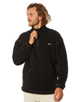 BLACK ONE MENS CLOTHING RUSTY JUMPERS - FTM0924BK1