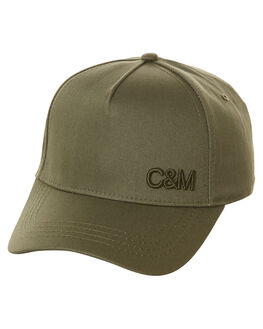 KHAKI WOMENS ACCESSORIES CAMILLA AND MARC HEADWEAR - OCMA98KHK