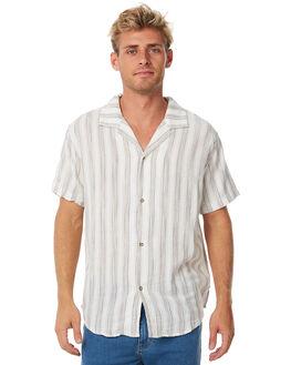 NATURAL MENS CLOTHING RHYTHM SHIRTS - APR18M-WT06-NAT