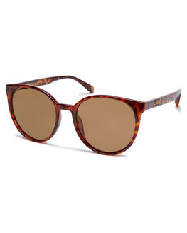 POLISHED TORT WOMENS ACCESSORIES LOCAL SUPPLY SUNGLASSES - GALLERYTLP3