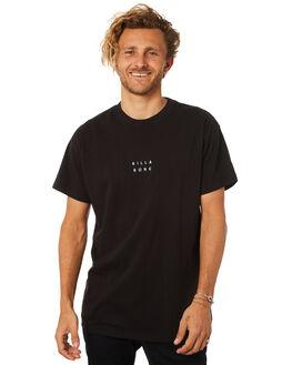 BLACK WHITE MENS CLOTHING BILLABONG TEES - 9581017BLKWH