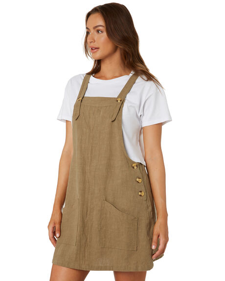 PRAIRIE WOMENS CLOTHING RUSTY PLAYSUITS + OVERALLS - DRL1029PRA