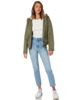 ARMY  COMBO WOMENS CLOTHING VOLCOM JACKETS - B1531952ARC