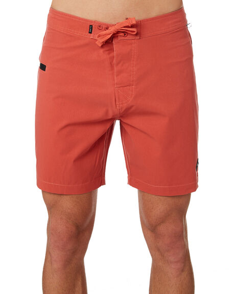 BURNT SIENNA MENS CLOTHING THE CRITICAL SLIDE SOCIETY BOARDSHORTS - ASB1701BSIEN