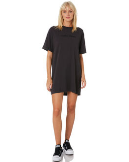 HERITAGE BLACK WOMENS CLOTHING THRILLS DRESSES - WTH9-909HBBLACK