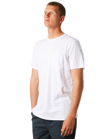 WHITE MENS CLOTHING SWELL TEES - S5164006WHT