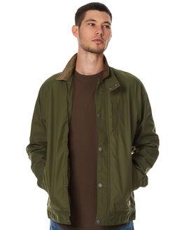 HUNTER GREEN MENS CLOTHING GLOBE JACKETS - GB01737006HGR