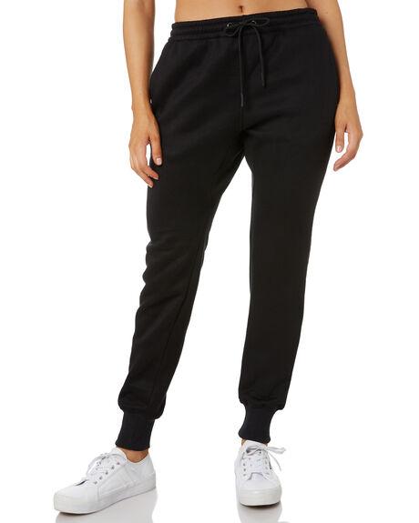 BLACK WOMENS CLOTHING RUSTY PANTS - PAL1158BLK