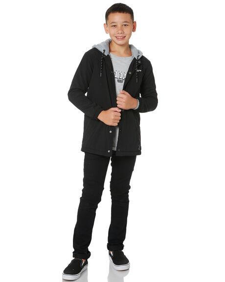 BLACK KIDS BOYS ST GOLIATH JUMPERS + JACKETS - 2450035BLK