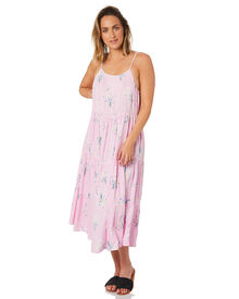Swell Ocean Breeze Maxi - Pink Floral Print | SurfStitch
