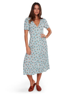 BLUE WOMENS CLOTHING BILLABONG DRESSES - BB-6592482-BLU