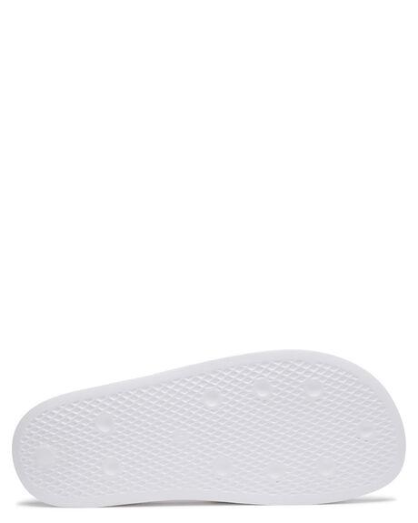 WHITE WOMENS FOOTWEAR ADIDAS SLIDES - FU8297FWHT
