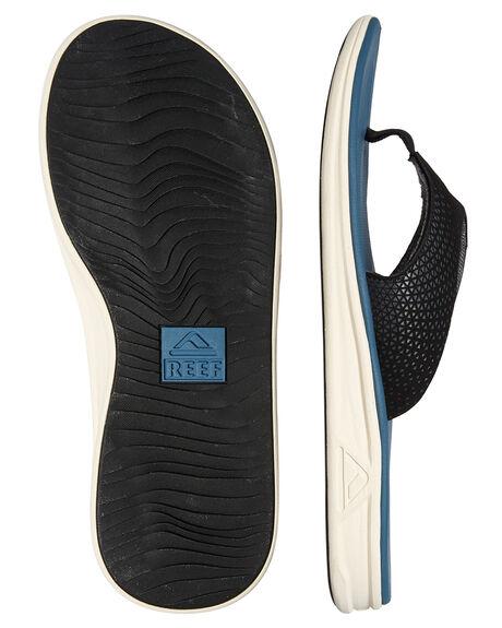 STEEL BLUE MENS FOOTWEAR REEF THONGS - 2295STB