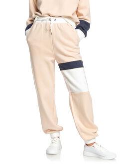 IVORY CREAM WOMENS CLOTHING ROXY PANTS - ERJFB03262-TFM0